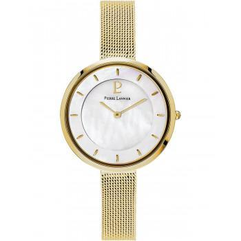 PIERRE LANNIER Ladies - 076G598  Gold case with Stainless Steel Bracelet