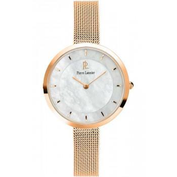 PIERRE LANNIER  Ladies - 076G998,  Rose Gold case with Stainless Steel Bracelet