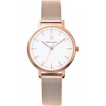 PIERRE LANNIER  Ladies - 091L918,  Rose Gold case with Stainless Steel Bracelet