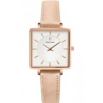 PIERRE LANNIER Lecare - 008F924  Rose Gold case with Pink Leather strap
