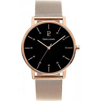 PIERRE LANNIER  Mens - 203F038,  Rose Gold case with Stainless Steel Bracelet