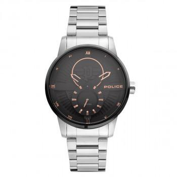 POLICE Avondale - PEWJG2110140,  Silver case with Stainless Steel Bracelet
