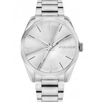 POLICE Raglan - PL15712JS/04M,  Silver case with Stainless Steel Bracelet