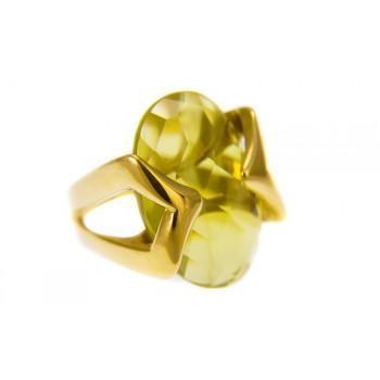 TBS Creations Δαχτυλίδι από χρυσό 18 καρατίων BSR80042
