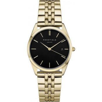 ROSEFIELD The Ace - ACBKG-A13  Gold case with Stainless Steel Bracelet