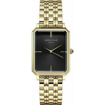 ROSEFIELD The Elles - OBSSG-O47  Gold case with Stainless Steel Bracelet