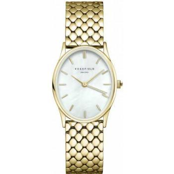 ROSEFIELD The Oval - OWGSG-OV01  Gold case with Stainless Steel Bracelet