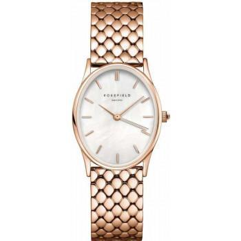 ROSEFIELD The Oval - OWGSR-OV02  Rose Gold case with Stainless Steel Bracelet