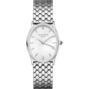 ROSEFIELD The Oval - OWGSS-OV03  Silver  case with Stainless Steel Bracelet