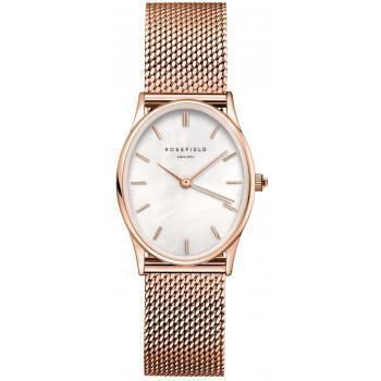 ROSEFIELD The Oval - OWRMR-OV12  Rose Gold case with Stainless Steel Bracelet