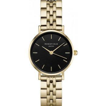 ROSEFIELD The Small Edit - 26BSG-268 Gold case with Stainless Steel Bracelet