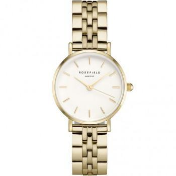 ROSEFIELD The Small Edit - 26WSG-267  Gold case with Stainless Steel Bracelet