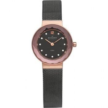 SKAGEN - 456SRM Bronze case, with Black Bracelet