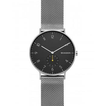 SKAGEN Aaren Mens - SKW6470,  Silver case with Stainless Steel Bracelet