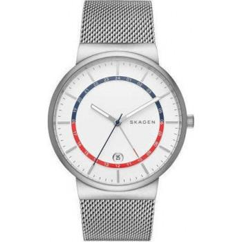 SKAGEN Ancher Mens - SKW6251,  Silver case with Stainless Steel Bracelet