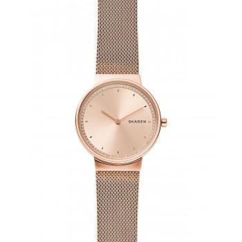 SKAGEN Annelie Crystals Ladies - SKW2751, Rose Gold case with Stainless Steel Bracelet