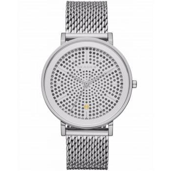SKAGEN Hald Ladies - SKW2446,  Silver case with Stainless Steel Bracelet