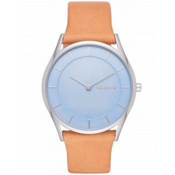 SKAGEN Holst Ladies - SKW2451  Silver case  with Brown Leather Strap