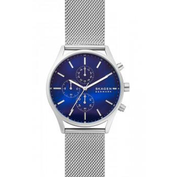SKAGEN Holst Mens - SKW6652,  Silver case with Stainless Steel Bracelet