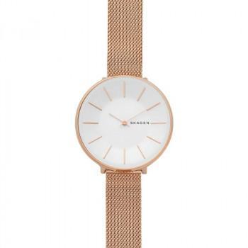 SKAGEN  Karolina Ladies - SKW2688, Rose Gold case with Stainless Steel Bracelet