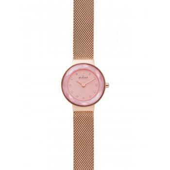 SKAGEN Leonora Crystals Ladies - SKW2768, Rose Gold case with Stainless Steel Bracelet