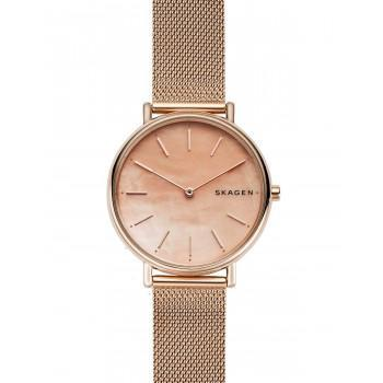 SKAGEN Signatur Ladies - SKW2732, Rose Gold case with Stainless Steel Bracelet