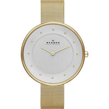 SKAGEN - SKW2141 Gold Plated case, with Gold Plated Bracelet