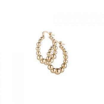 SOVRANI Σκουλαρίκια από ανοξείδωτο ατσάλι Gold J5607