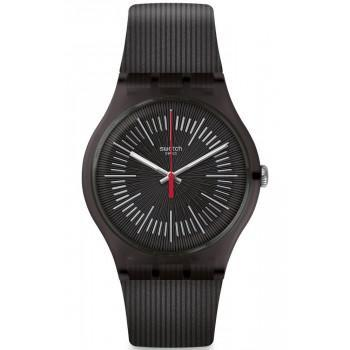 SWATCH Intercyderal - SUOB178  Black case with Black Rubber Strap