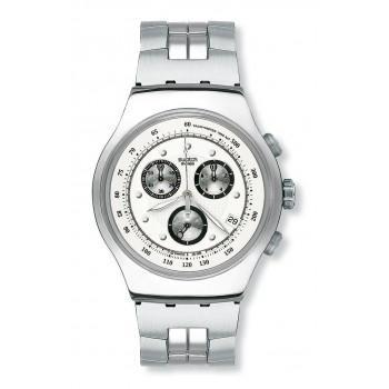 SWATCH Wealthy Star - YOS401G Silver case, with Stainless Steel Bracelet