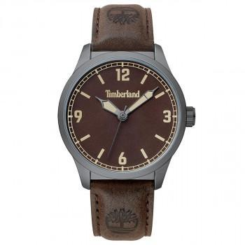 TIMBERLAND ORRINGTON - TBL.15904JYU/12-G,  Grey case with Brown Leather strap