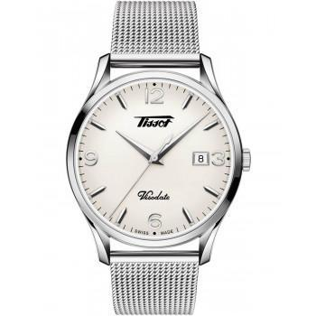 TISSOT Heritage Visodate  - T1184101127700  Silver case  with Stainless Steel Bracelet