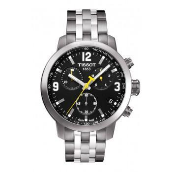 TISSOT PRC200 Quartz Chrono - T0554171105700 Silver case, with Stainless Steel Bracelet