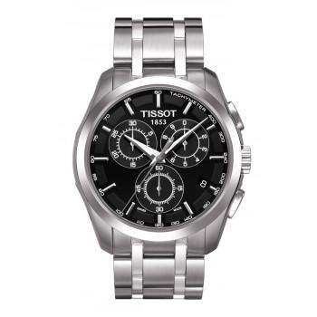 TISSOT T-Classic Couturier Chronograph - T0356171105100 Silver case, with Stainless Steel Bracelet
