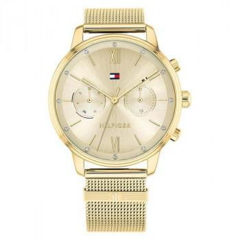 TOMMY HILFIGER Blake Crystals - 1782302  Gold case with Stainless Steel Bracelet