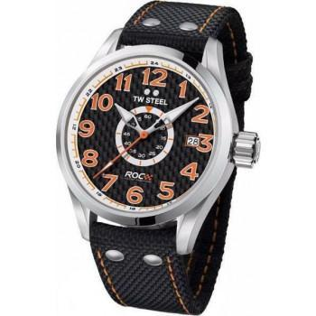 TW STEEL Volante  Race of Champions  - TW965, Silver case with Black Fabric Strap