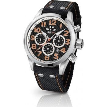TW STEEL Volante  Race of Champions  - TW966, Silver case with Black Fabric Strap