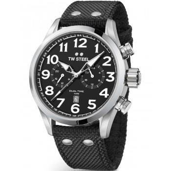 TW STEEL Volante  - VS8, Silver case with Black Fabric Strap