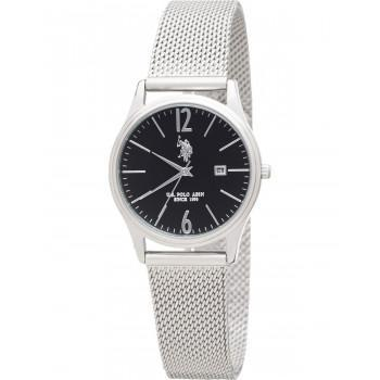 U.S. POLO Blake - USP5985ST , Silver case with Stainless Steel Bracelet