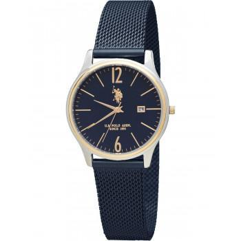 U.S. POLO Blake - USP5988BL , Silver case with Stainless Steel Bracelet