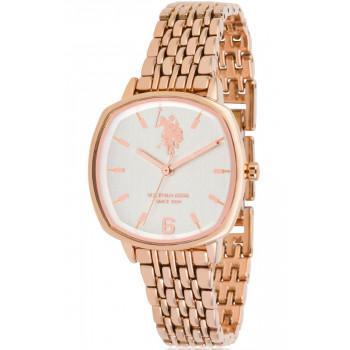 U.S. POLO Candice - USP5907RG , Rose Gold case with Stainless Steel Bracelet
