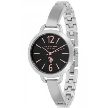 U.S. POLO Charlotte - USP5874BL , Silver case with Stainless Steel Bracelet