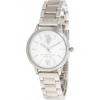 U.S. POLO Evelyn - USP5891ST , Silver case with Stainless Steel Bracelet