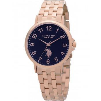 U.S. POLO Paxton - USP5990RG , Rose Gold case with Stainless Steel Bracelet