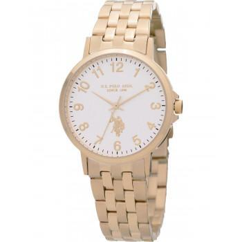 U.S. POLO Paxton - USP5991YG , Gold case with Stainless Steel Bracelet