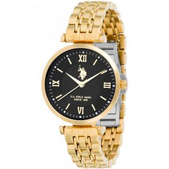 U.S. POLO Paxton - USP5997BK , Gold case with Stainless Steel Bracelet