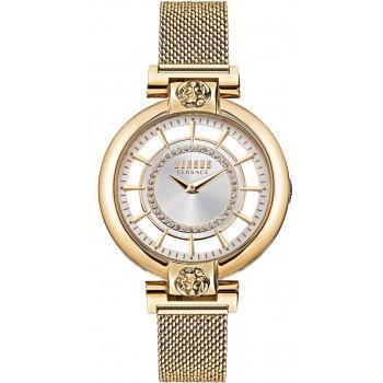 VERSACE Versus Crystals Ladies - VSP1H0621,  Gold case with Stainless Steel Bracelet