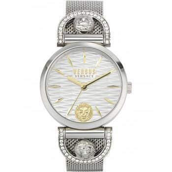 VERSACE Versus Iseo Crystals  - VSPVP0420,  Silver case with Stainless Steel Bracelet