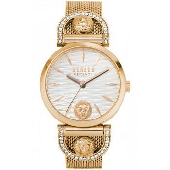 VERSACE Versus Iseo Crystals  - VSPVP0720,  Rose Gold case with Stainless Steel Bracelet