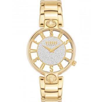 VERSACE Versus Kirstenhof - VSP491419,  Gold case with Stainless Steel Bracelet